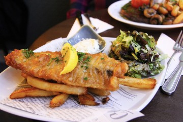 A British Classic: Fish & Chips