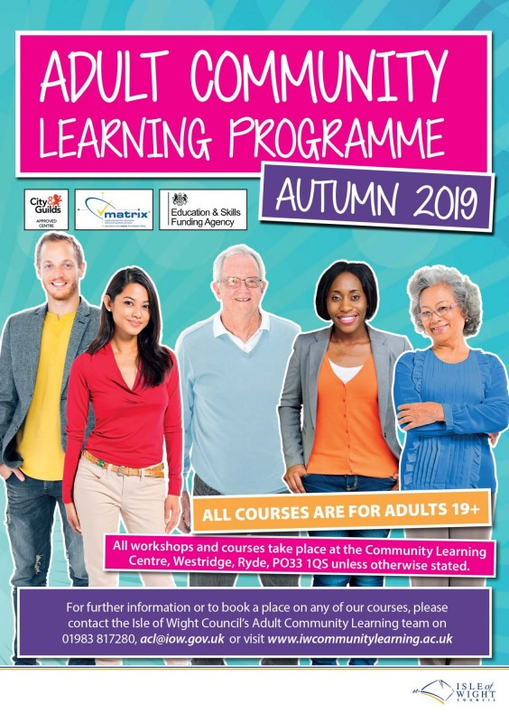 Adult Community Learning Programme: Autumn