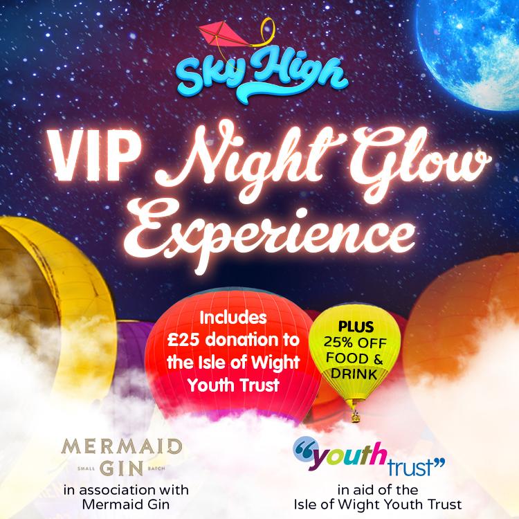 Sky High VIP Night Glow Evening
