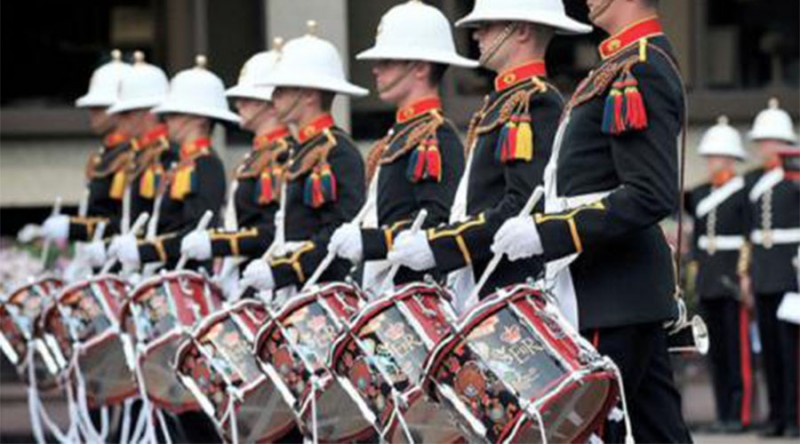 HM Royal Marine Band Portsmouth- Madina Theatre