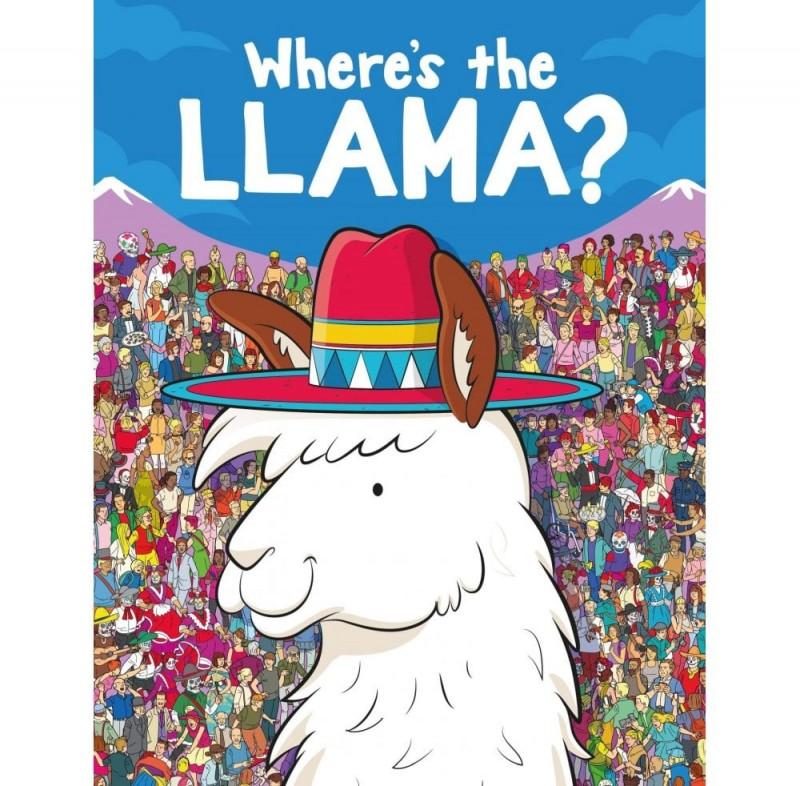 Where's The Llama? Book