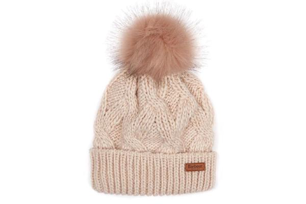 Ladies Barbour Bobble Hat