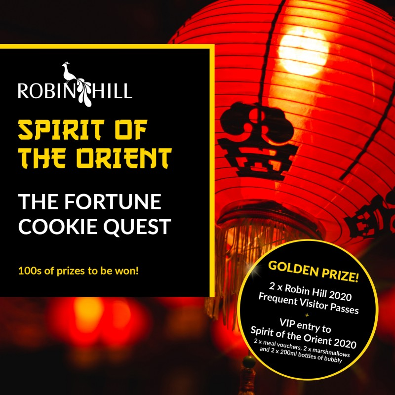 The Fortune Cookie Quest is back by popular demand!