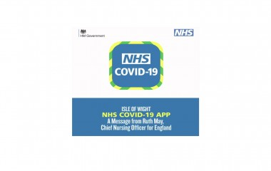 Isle of Wight a message from Ruth May, Chief Nursing Officer for England