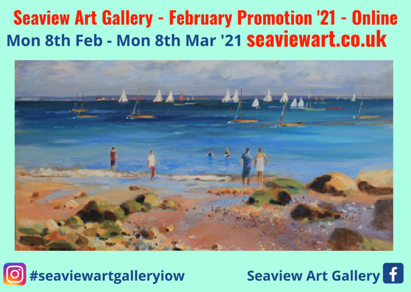 Its the 6th annual Seaview Art Gallery February Promotion!